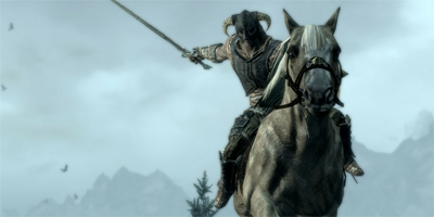 Mounted Skyrim